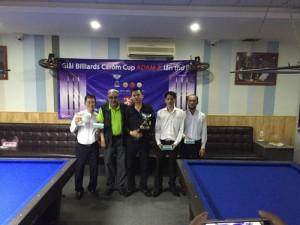 ベトナムで行われたアダム3Cトーナメントの結果
