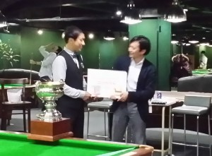 15th Snooker Japan Open  ADAM JAPAN ココカラダ CUP