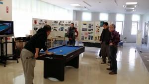 狭山市産業センターでアダムジャパン展示会・初心者コーチを行っています。
