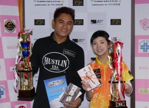 第36回関東オープン 男子はフィリピンのジェフリーイグナシオプロ、女子は平口結貴プロ