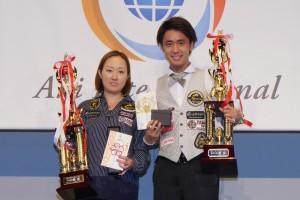 第29回ジャパンオープン優勝は、男子土方隼斗プロ、女子栗林美幸プロ