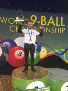 2016年世界選手権優勝は、アルビン・オーシャン