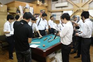 埼玉県秩父市の企業の方々20名が工場見学