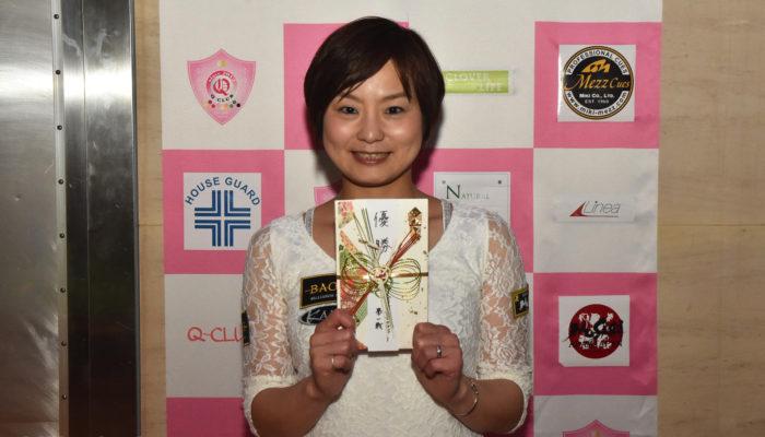 2017 『全日本女子プロツアー第1戦』アダム専属、中島美秀プロ初優勝!