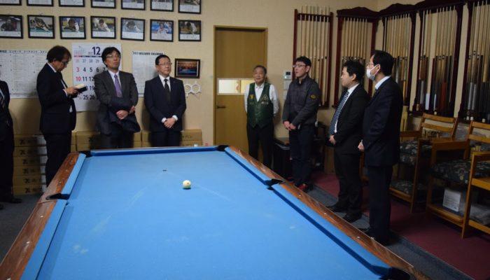 12月8日埼玉県商工会議所の人たち21名がアダムジャパンを訪問