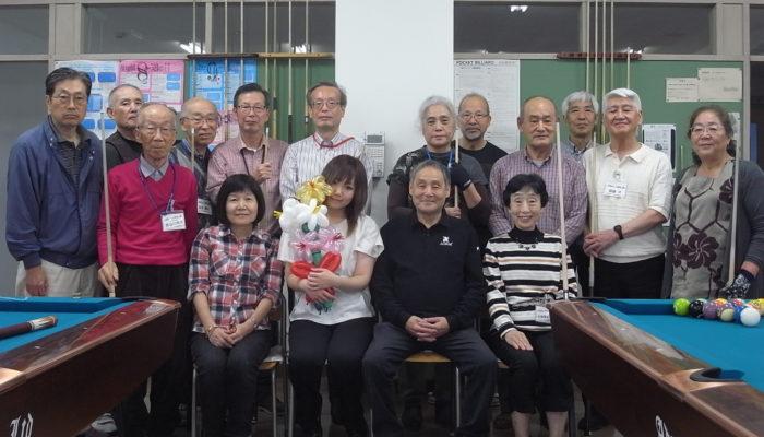 11月7日元気プラザ愛好会 講師に青木知枝プロ、長矢賢治プロ参加