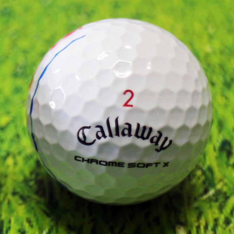 キャロウェイ callaway ゴルフボール chromesoft X クロムソフトX