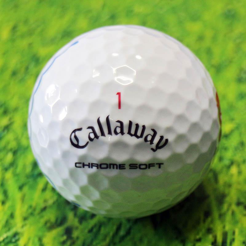 キャロウェイ callaway ゴルフボール chromesoft クロムソフト